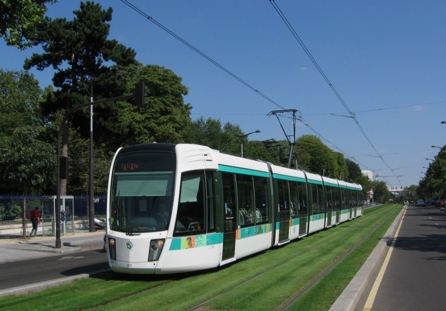 Парижская трамвайная система