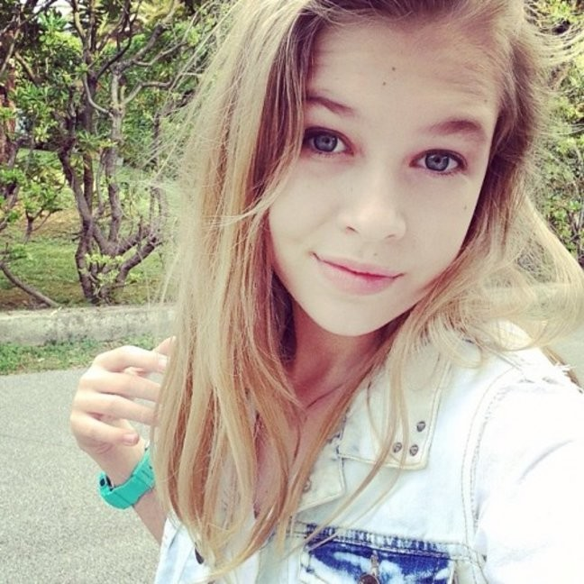 Дочь Веры Брежневой в 15 лет