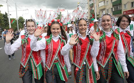 Президент поздравил белорусскую молодежь с праздником