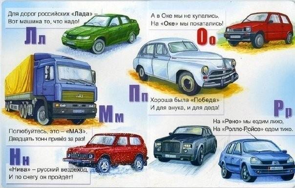 Автомобильный алфавит