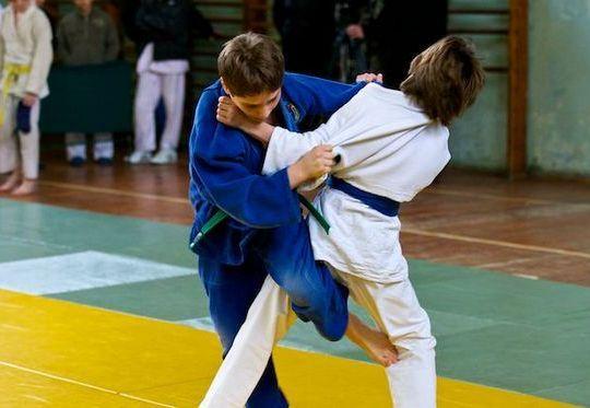 В Бобруйске прошли соревнования по дзюдо среди юношей и девушек