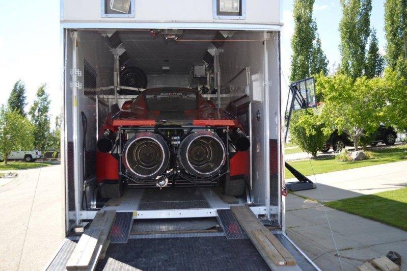Канадский умелец построил в гараже Ferrari с реактивными двигателями