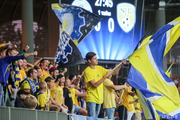 БАТЭ выиграл первый матч квалификации к Лиге чемпионов