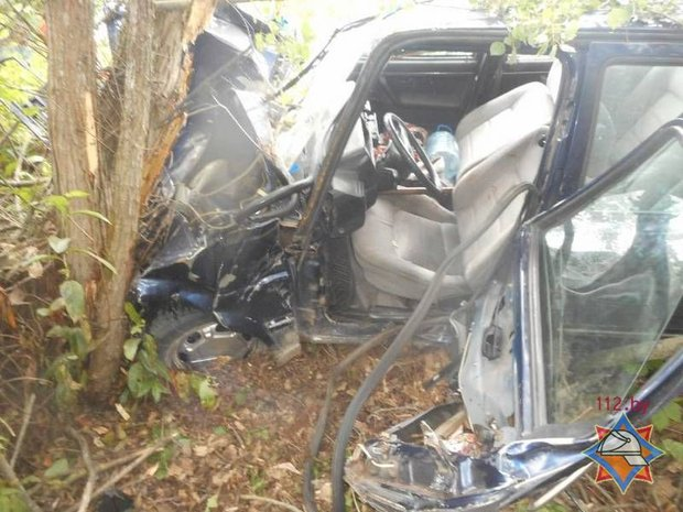 В Бобруйском районе съехала в кювет VW Jetta: пострадала водитель