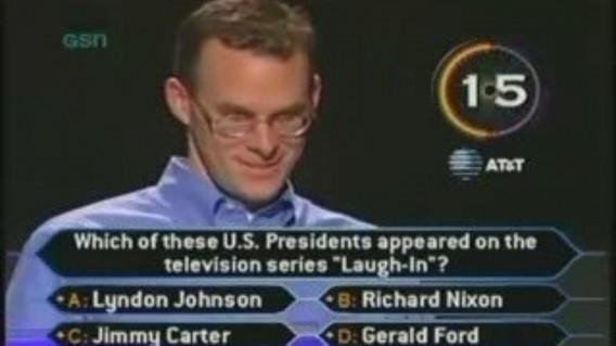 Кто хочет ответить на вопрос за миллион долларов?