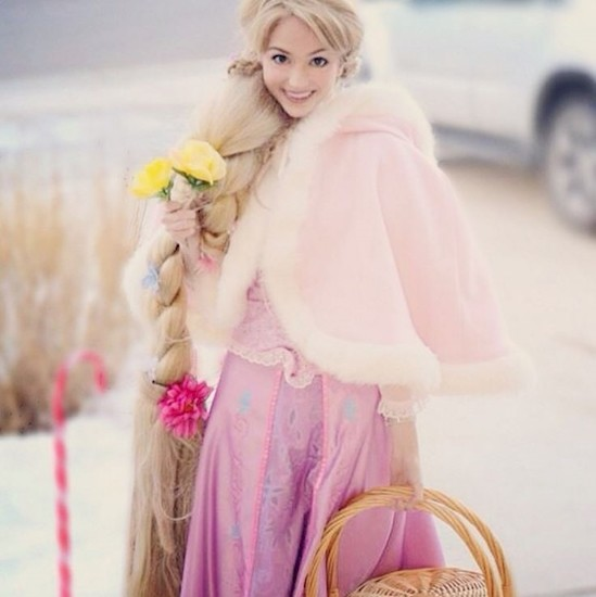 Эта женщина заплатила более 10 000 долларов, чтобы выглядеть, как диснеевская принцесса