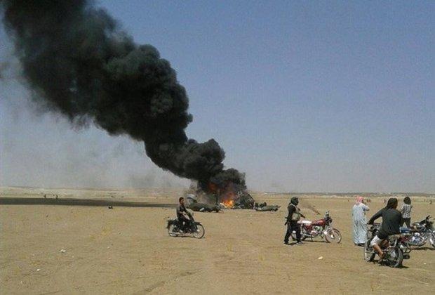 В Сирии сбит российский военно-транспортный вертолет Ми-8, экипаж погиб