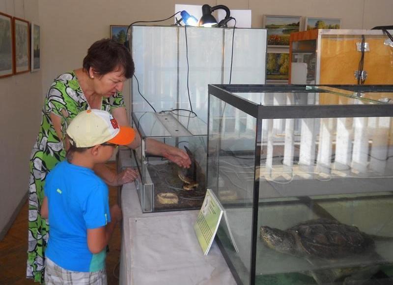 Выставка заморских рептилий открыта до конца августа