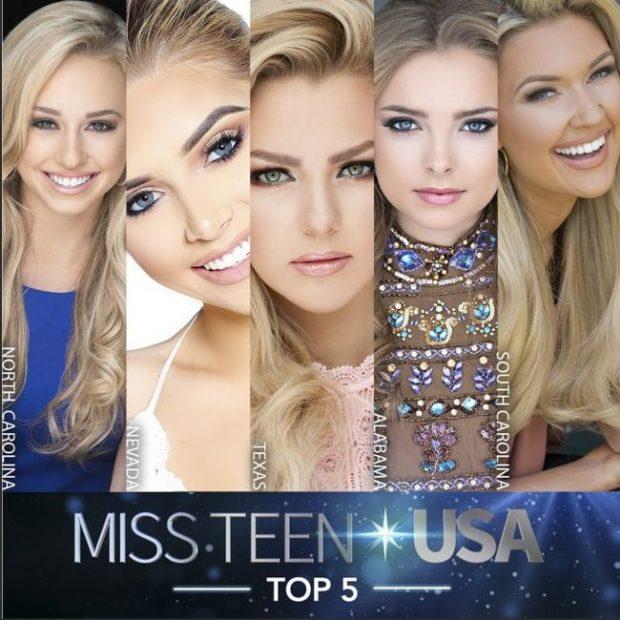 Финалистки конкурса красоты Miss Teen USA оказались на одно лицо