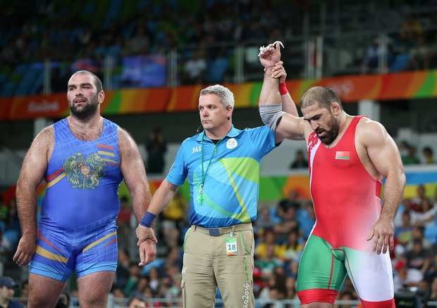 Борец Саидов принес Беларуси девятую медаль на Олимпиаде-2016