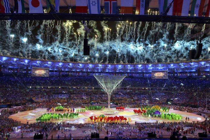 Олимпийский огонь летних Игр-2016