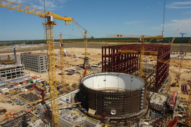 На стройплощадке Белорусской АЭС