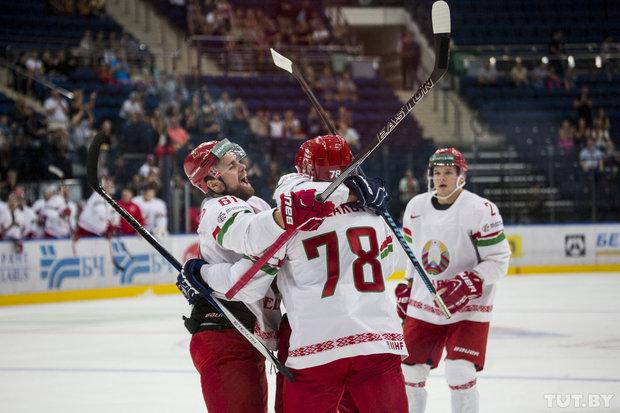 Белорусские хоккеисты обыграли немцев и выиграли
