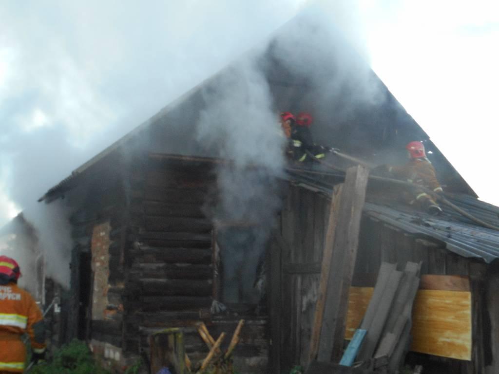 В Бобруйском районе пожар унес жизнь человека