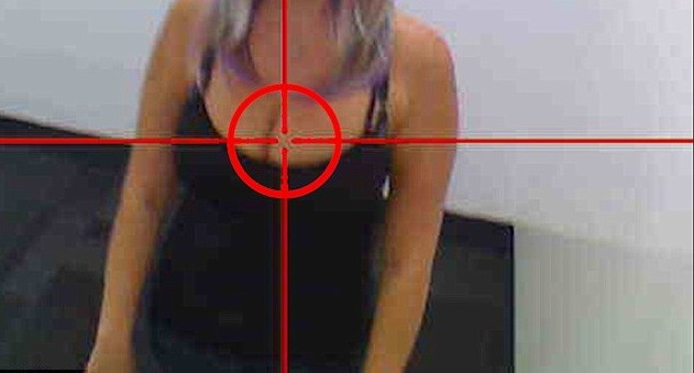 Не могли бы вы не смотреть на женскую грудь?