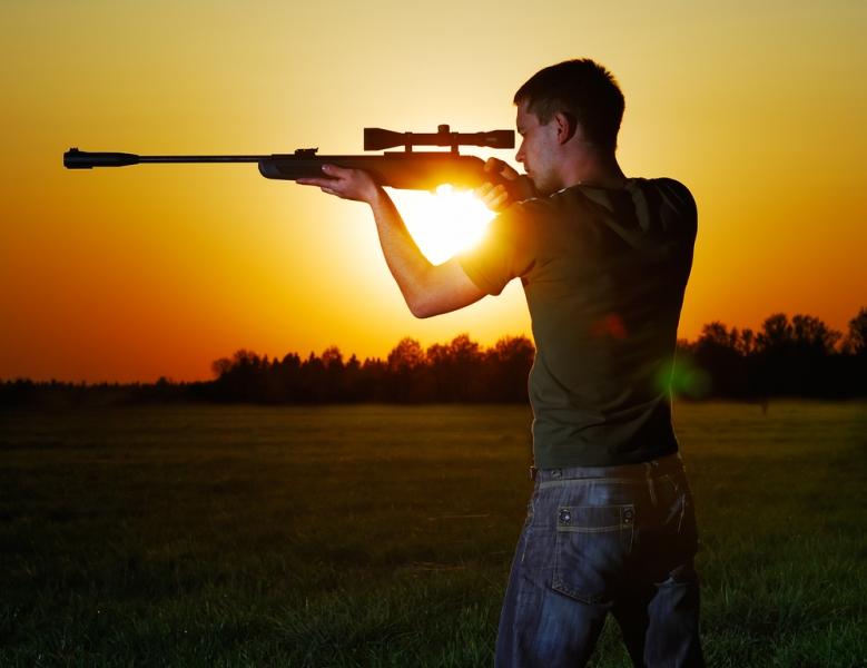 пневматическую винтовку