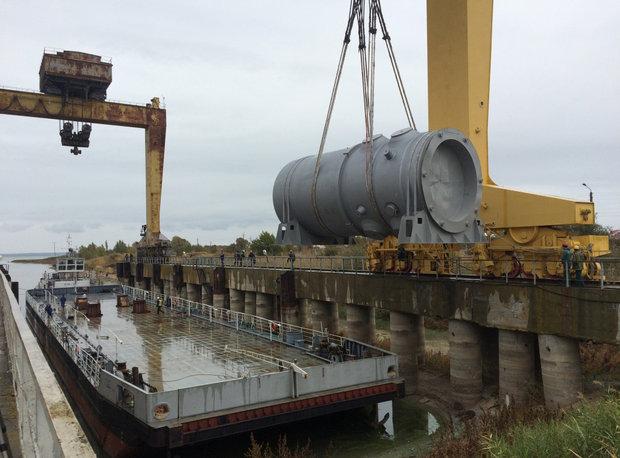 Новый корпус реактора для БелАЭС отгрузят в конце октября