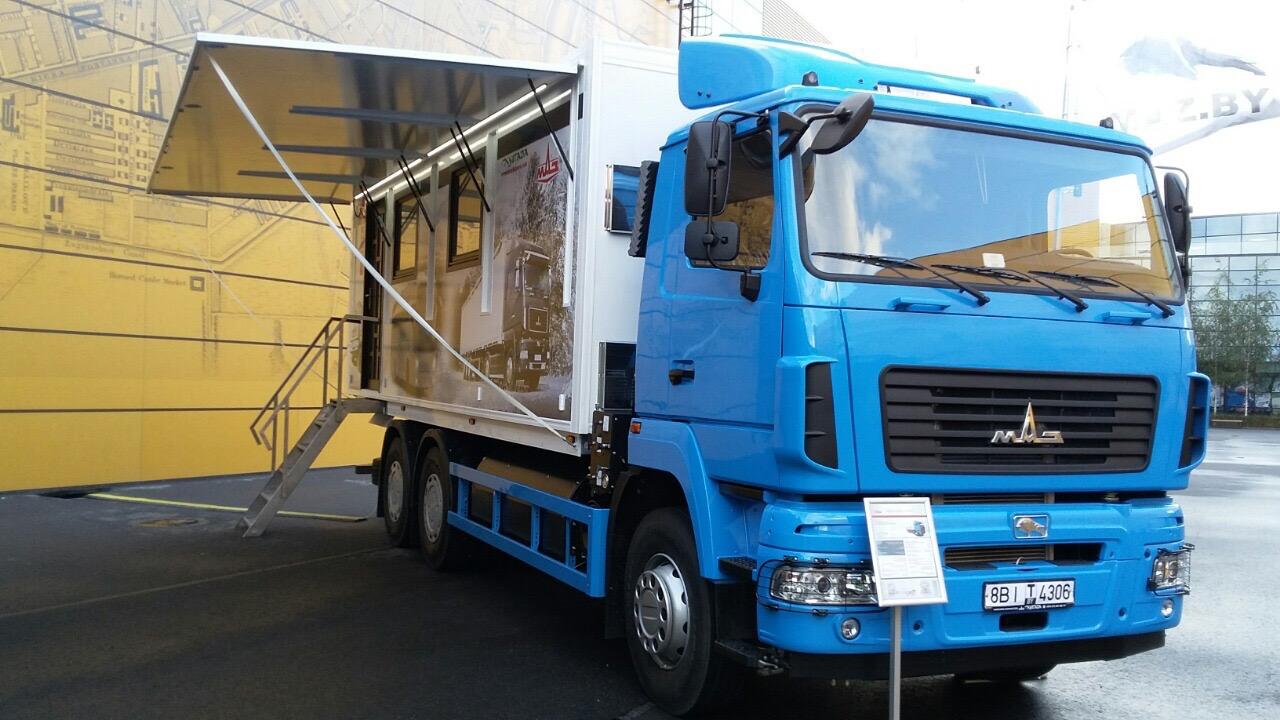 МАЗ создал специальный грузовик для VIP-персон