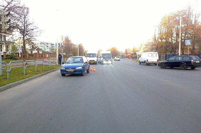 ДТП в Бобруйске за минувшую неделю