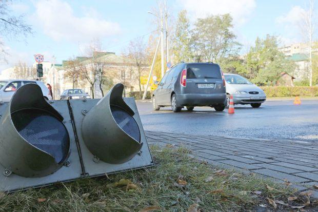 Улица Гоголя снова зафиксирована в сводке ДТП