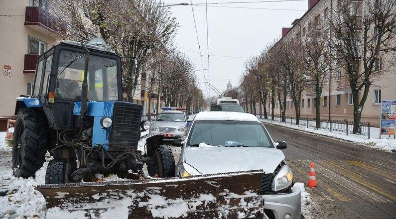 Первый снег - первые жертвы на дорогах