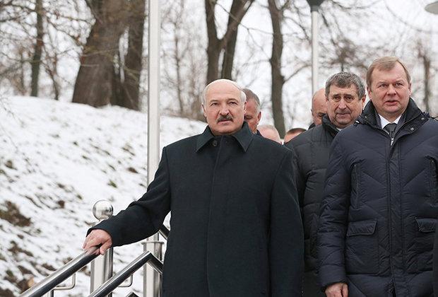 Лукашенко приехал в Могилев