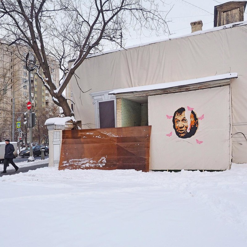 Эти ребята из Москвы делают невероятно крутой стрит-арт