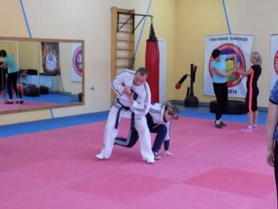 Мастер-класс «Основы техники самообороны» в Бобруйске