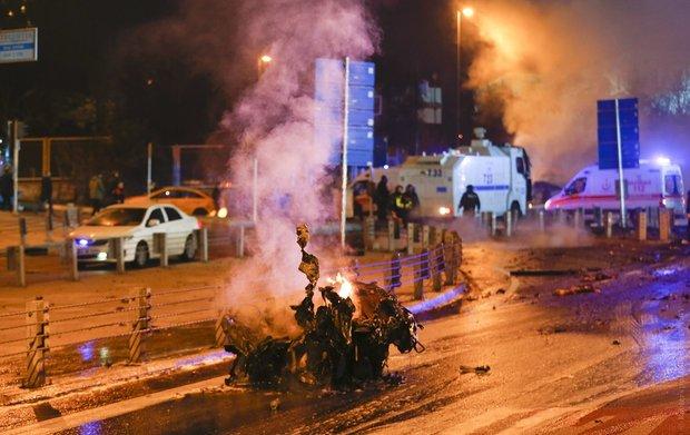 В центре Стамбула прогремели взрывы