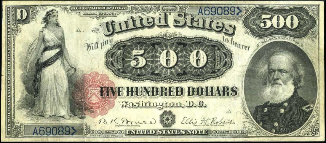 $ 500 долларов