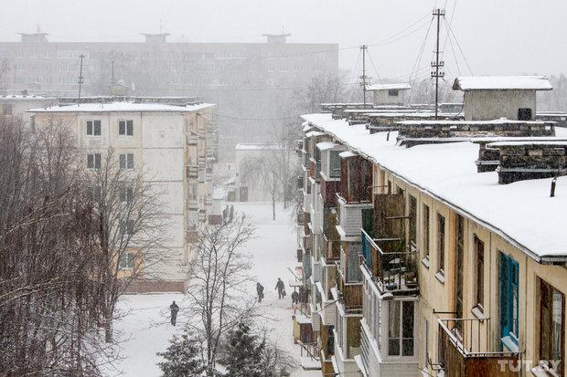 В Могилевской области выпало до 14 см снега. Следом придет мороз