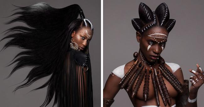 коллекция причесок для темнокожих девушек от известнейшего британского стилиста Лизы Фарралл