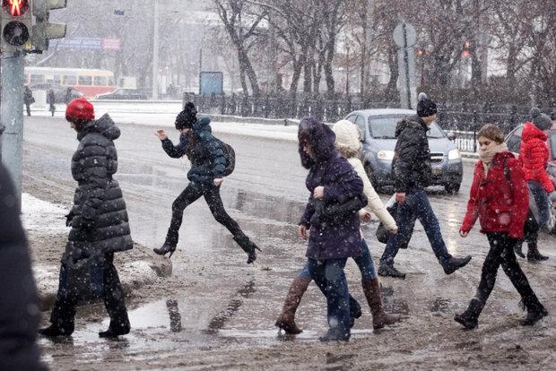 Снег и порывистый ветер. Погода в выходные