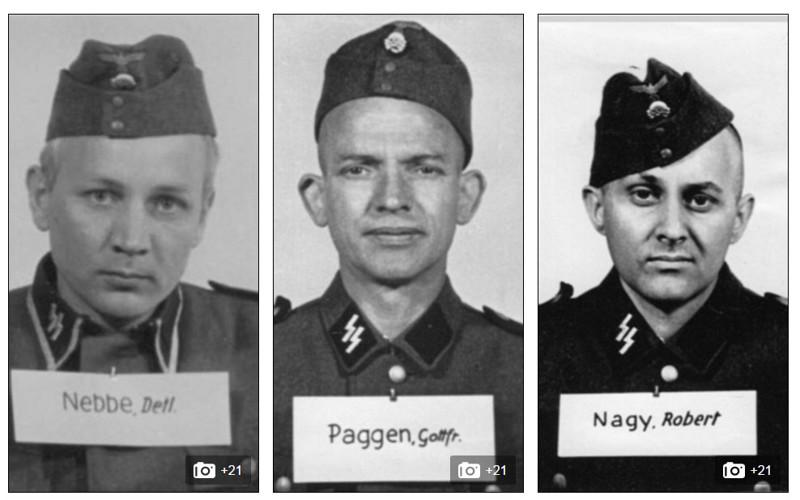 досье нацистских охранников Освенцима