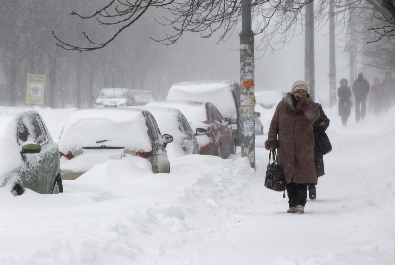 морозная погода в Бобруйске
