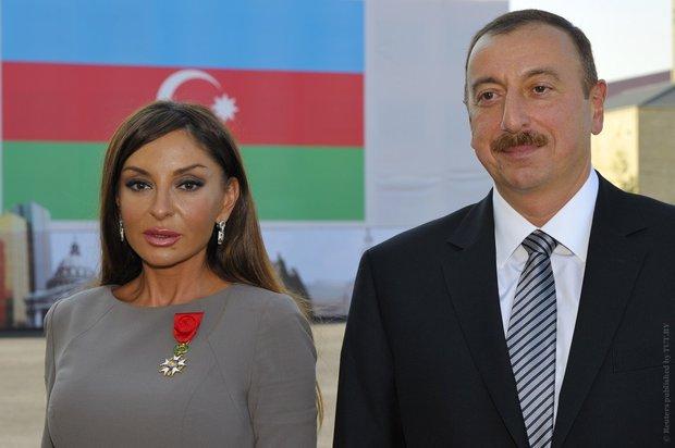 Ильхам Алиев назначил свою жену вице-президентом