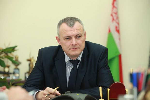 Министр внутренних дел Игорь Шуневич