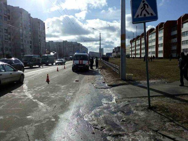В Бобруйске маршрутка насмерть сбила пешехода