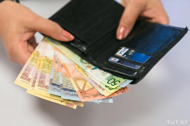 Каждый третий белорус ежемесячно располагает суммой меньше 300 рублей