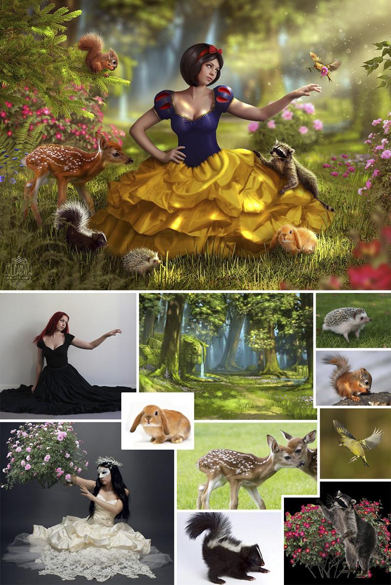 Украинка мастерски создает сказочные сюжеты с помощью Фотошопа