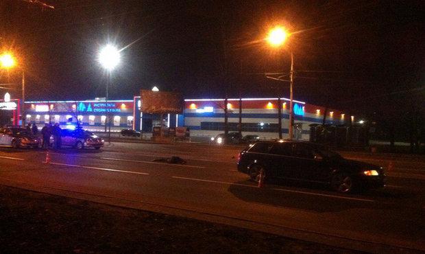 В Бобруйске Audi насмерть сбил мужчину в нескольких метрах от перехода