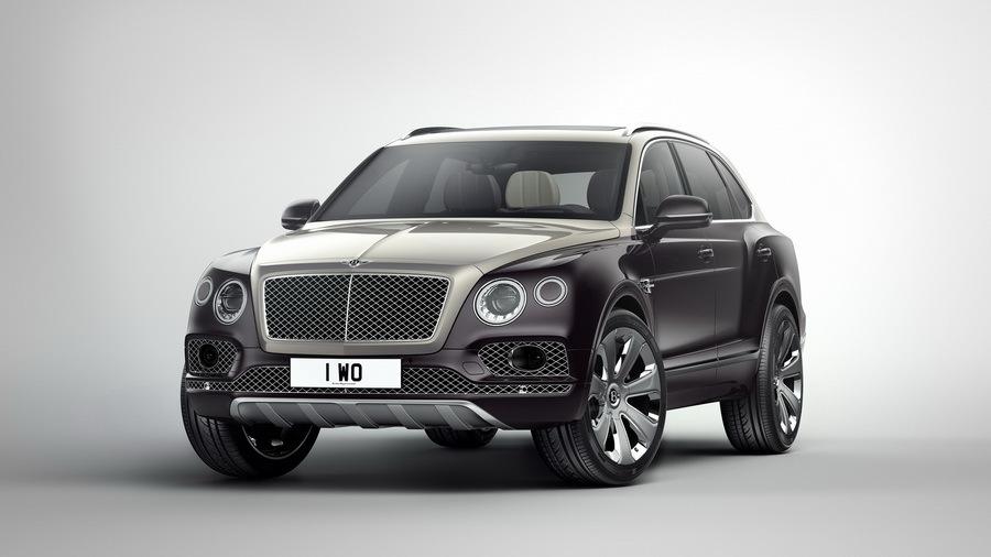 Самый дорогой Bentley Bentayga