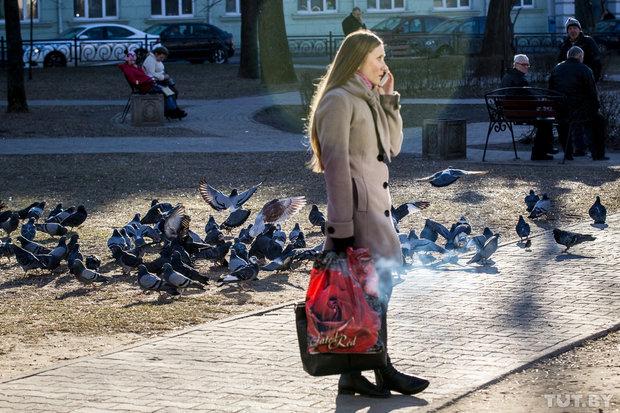 До +10 и порывистый ветер. Погода в Бобруйске в выходные