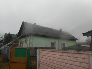 В Бобруйске мальчик спас дом от пожара