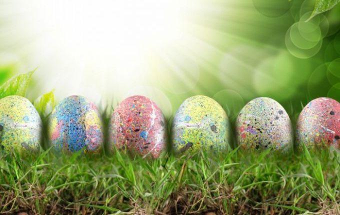Делаем креативные яйца к Пасхе