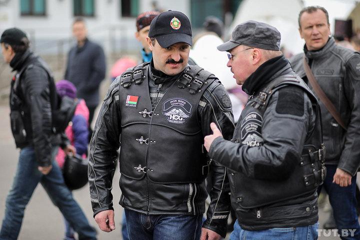 Игорь Шуневич и Виктор Лукашенко открыли байксезон на Harley