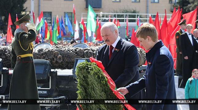 Лукашенко 9 мая