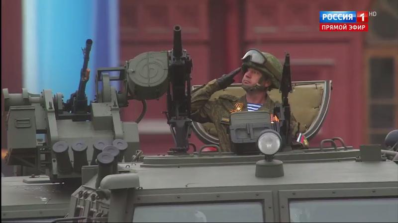 Обзор военной техники на Параде Победы в Москве