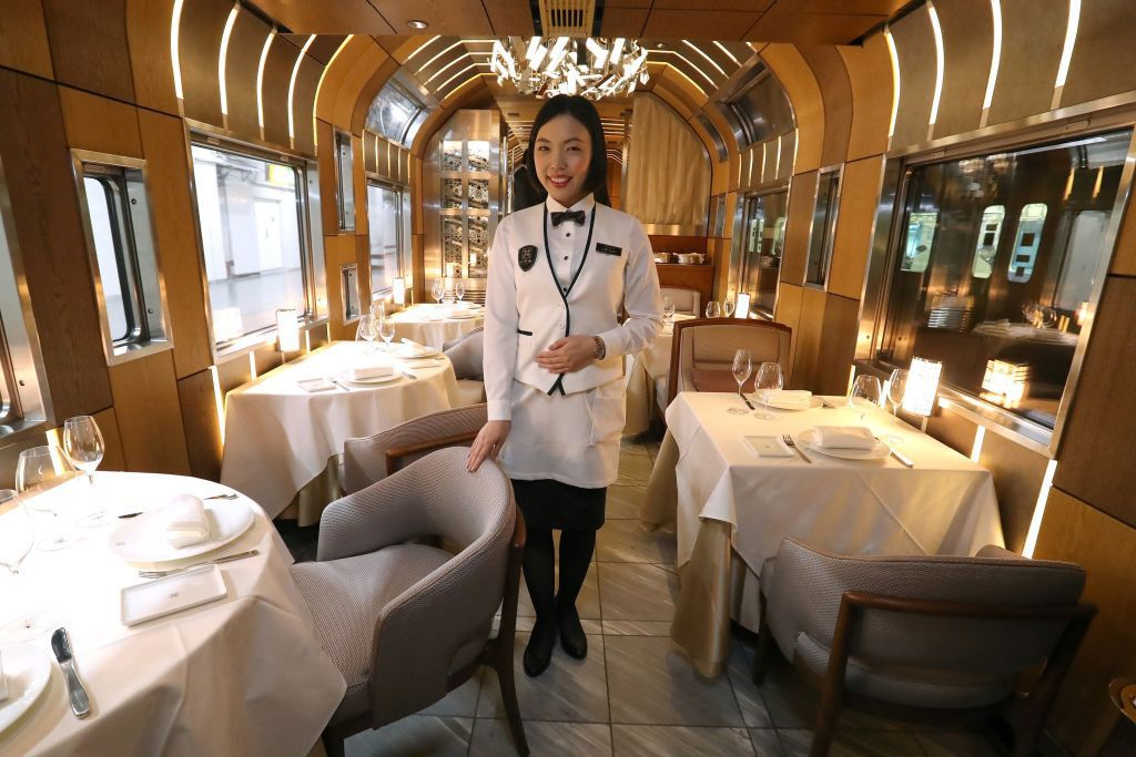 уникальный поезд для очень богатых