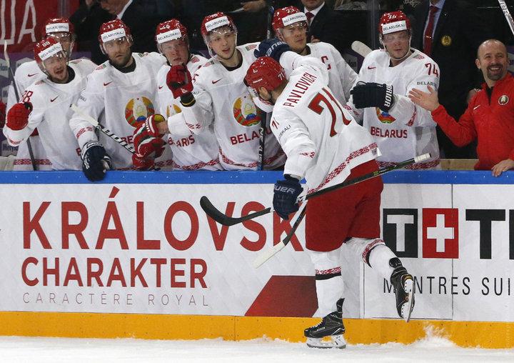 Сборная Беларуси по хоккею обыграла команду Словении (5:2)
